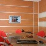 Дерево в интерьере кабинета