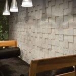 3d-панель на стене