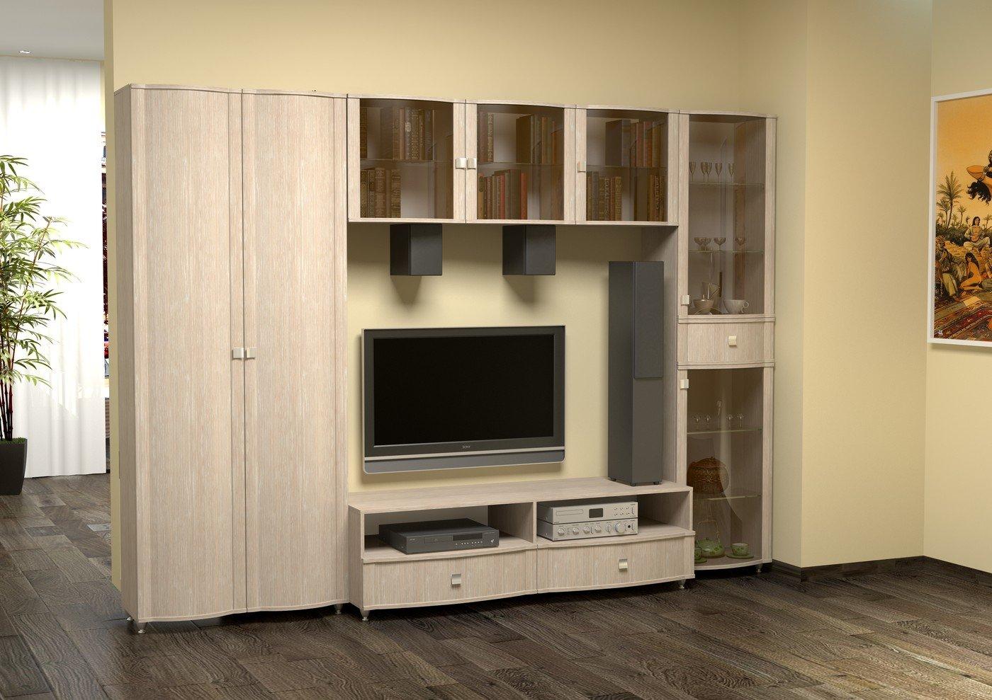Мебель из беленого дуба в интерьере