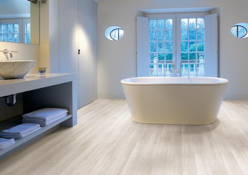 Беленый дуб в ванной