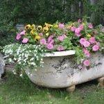 Ванна-цветник