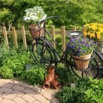 Велосипед с горшками