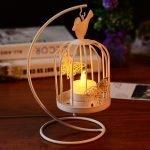 Декоративная свеча в клетке