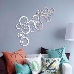 Зеркальные круги над креслом