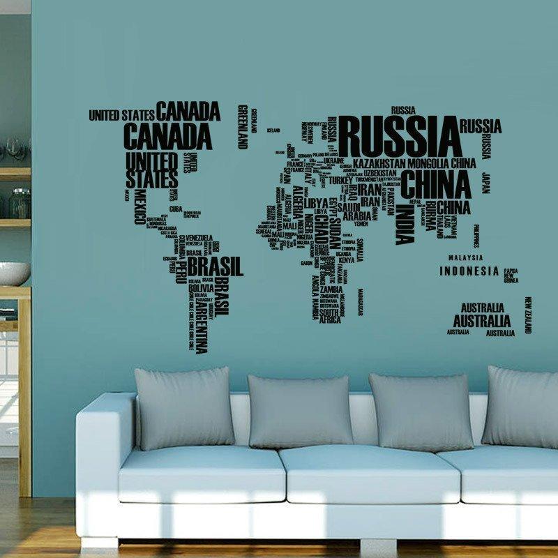 Карта из стран