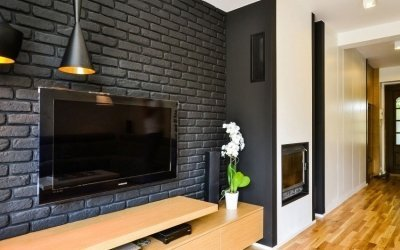 Декоративный кирпич на стену +75 фото примеров