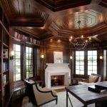 Роскошный деревянный потолок
