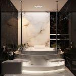 Роскошная ванная в частном доме