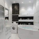 Угловая ванна в квартире