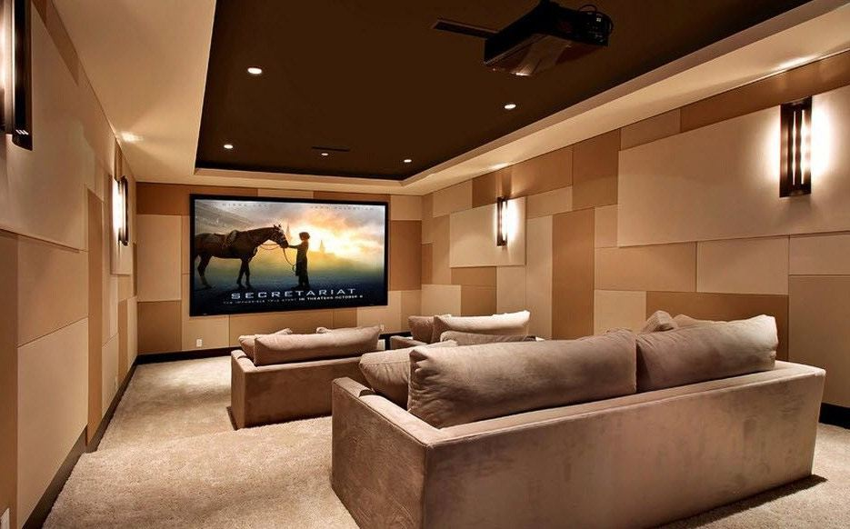 Обустройство домашнего кинотеатра