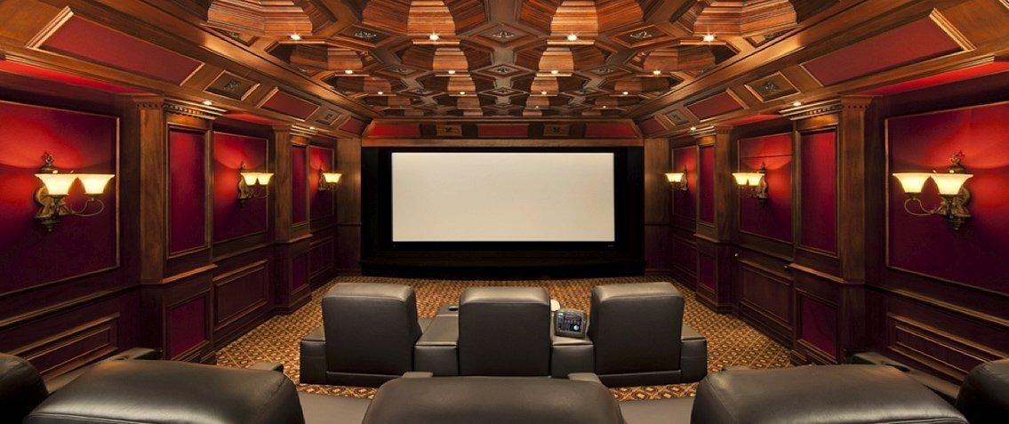 Освещение в интерьере домашнего кинотеатра