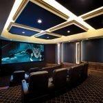 Потолок и стены с подсветкой