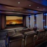 Шумоизоляция домашнего кинотеатра при помощи специальных материалов на стенах