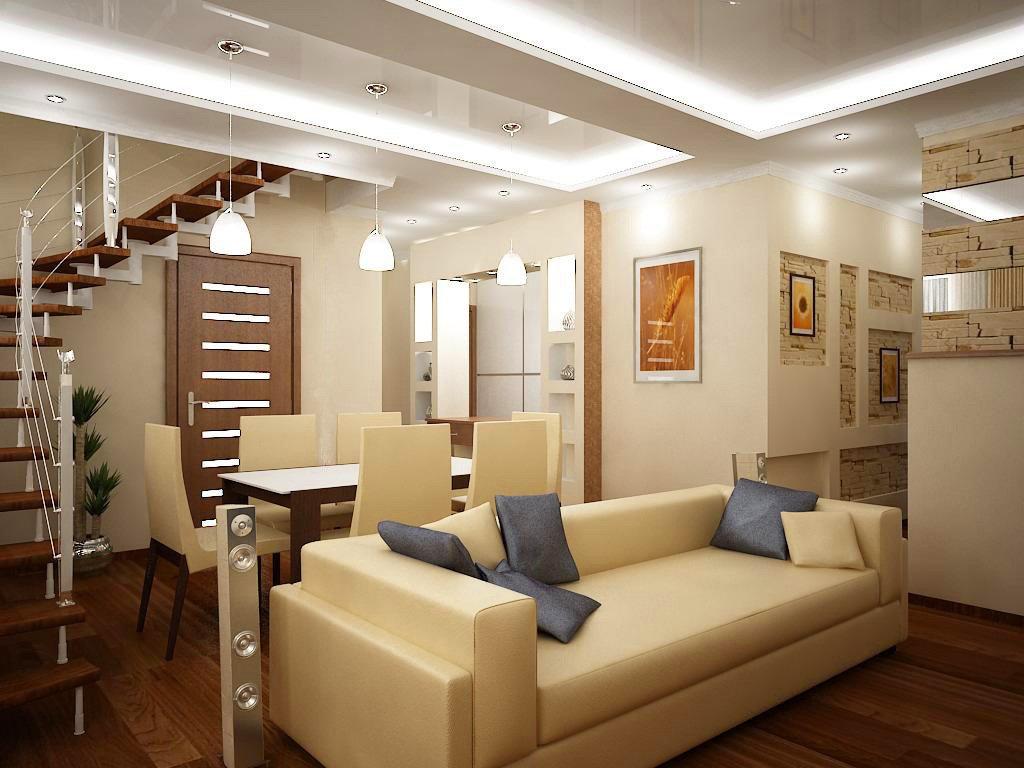 Освещение в интерьере двухуровневой квартиры