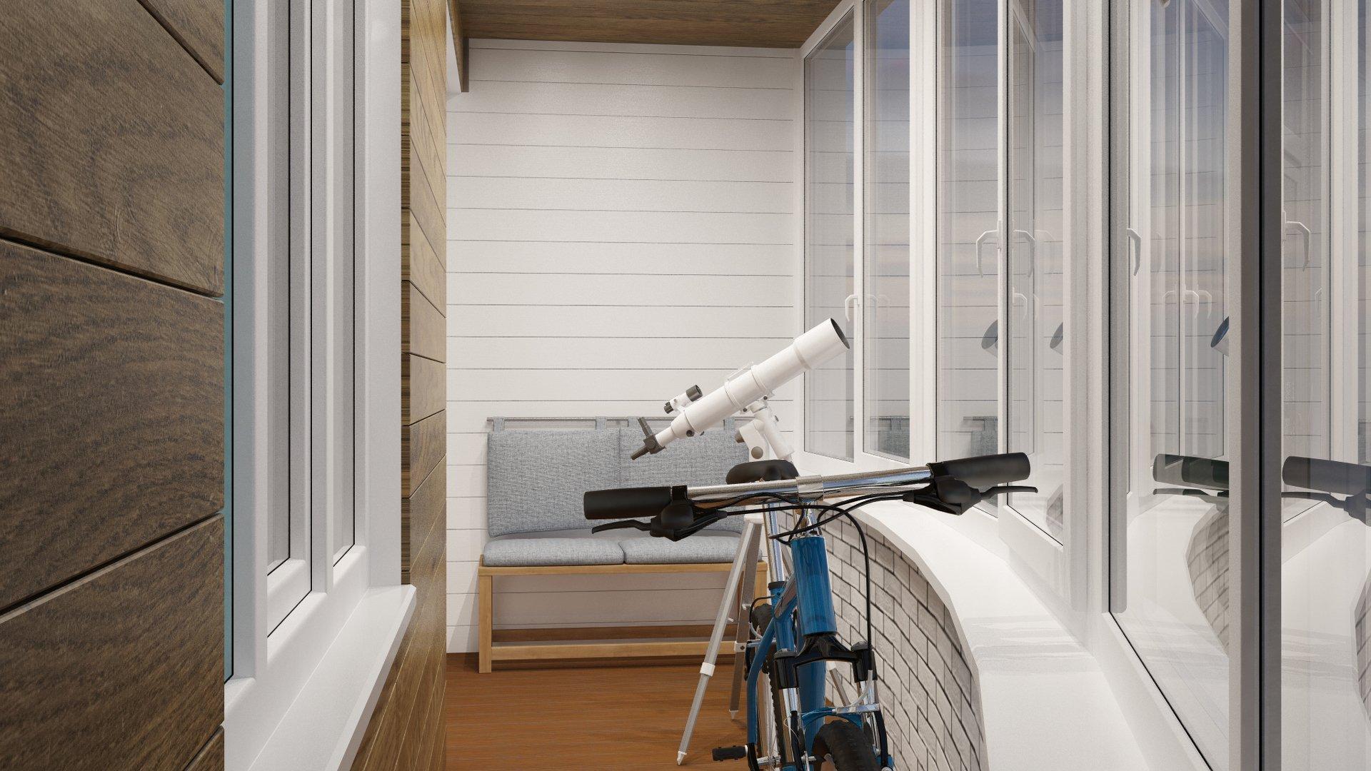 Телескоп у окна