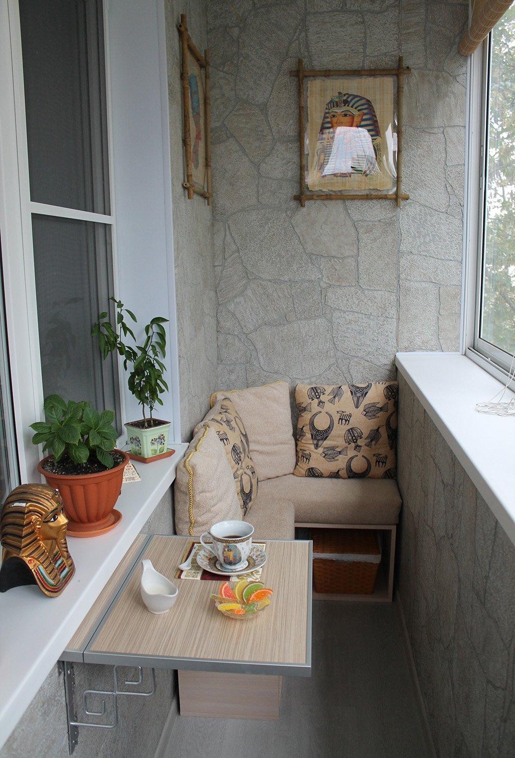 Оборудовать балкон своими руками