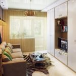 Небольшой зал в квартире