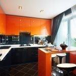 Стильный интерьер кухни в квартире