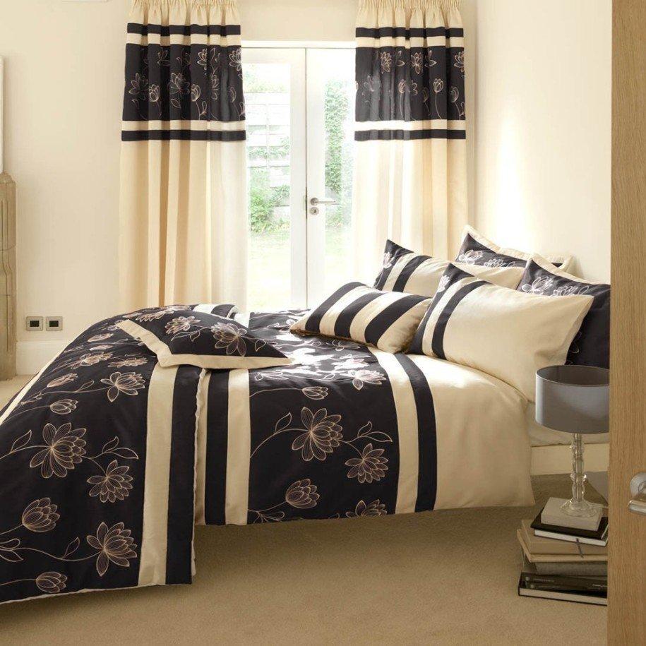 Текстиль для небольшой спальни