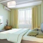 Светлая спальня в квартире