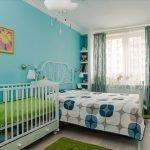 Красочный декор спальни
