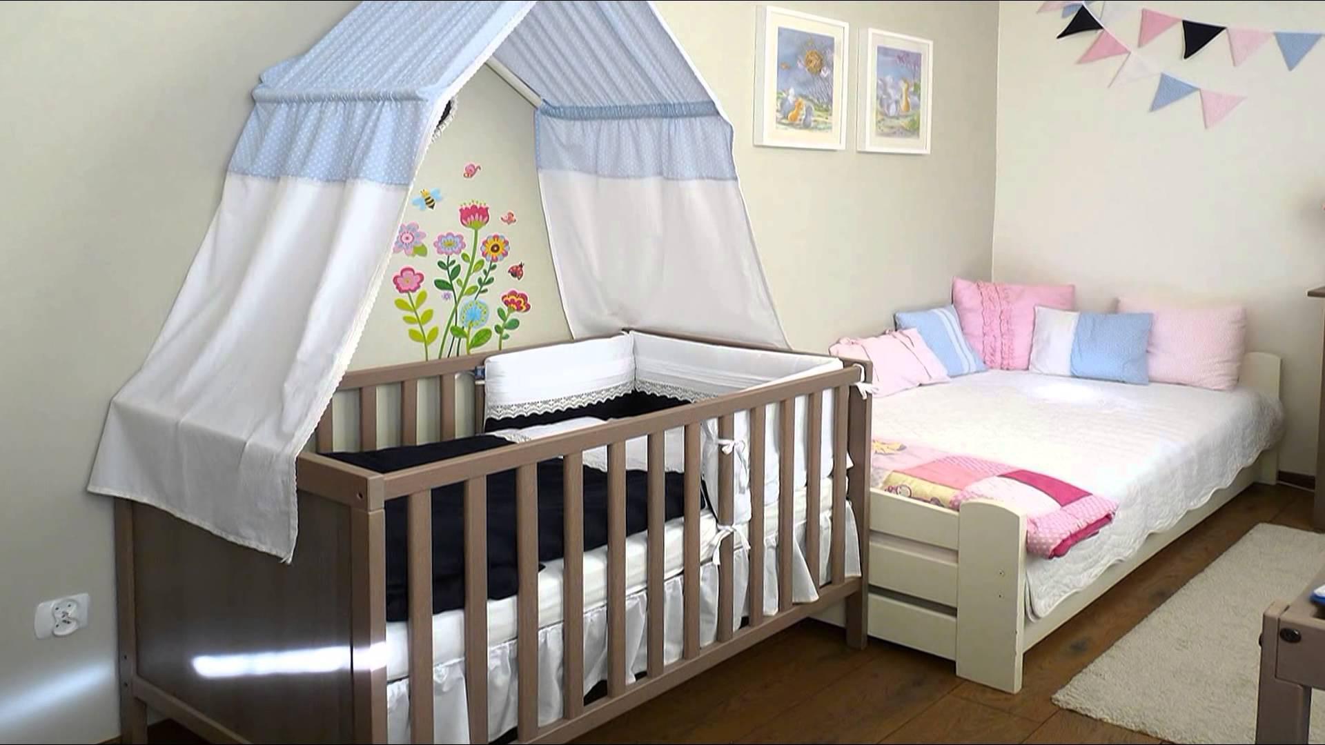 Изящный декор детской кроватки