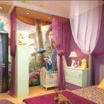 Ниша в комнате для детской кроватки