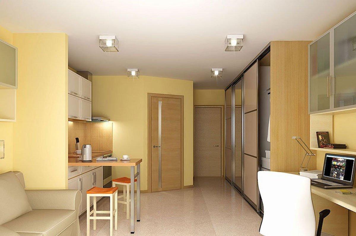 фото кв.м дизайн 26 квартира студия