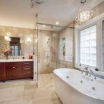 Красивая мебель в ванной