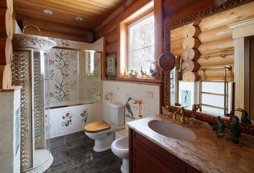 Домашняя сауна с окном