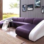 Угловой диван под кожу