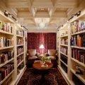 Интерьер домашней библиотеки