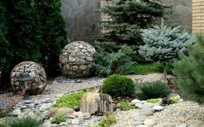 Камни для ландшафтного дизайна +50 фото примеров использования