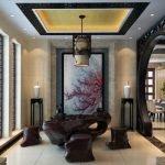Комната для гостей в восточном декоре