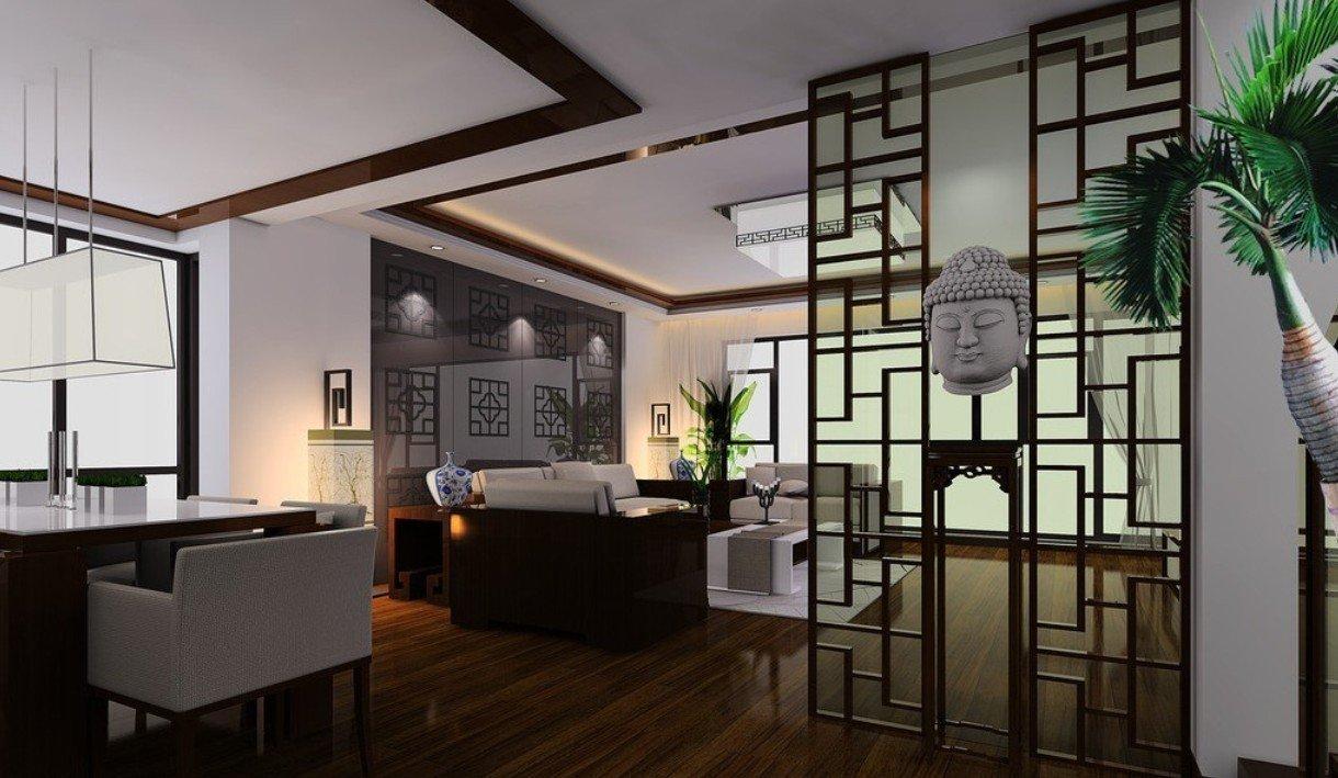 Декор комнаты в восточном стиле