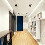Белые полки для книг