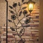 Светильник на стене
