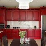 Планировка интерьере с кухней и столовой