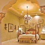 Восточный стиль спальни