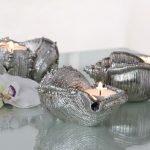 Серебристые раковины