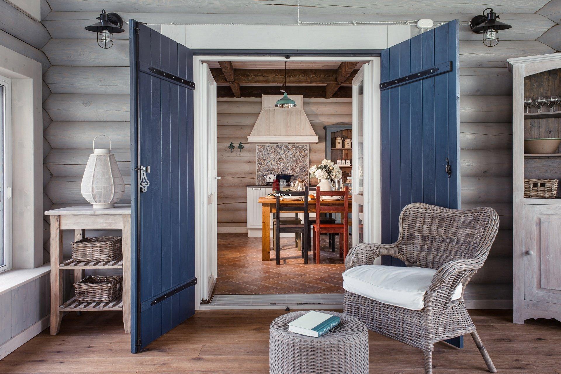 Деревенский дом в скандинавском стиле