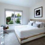 Спальня в скандинавском стиле в частном доме