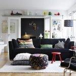 Стильная мебель в частном доме