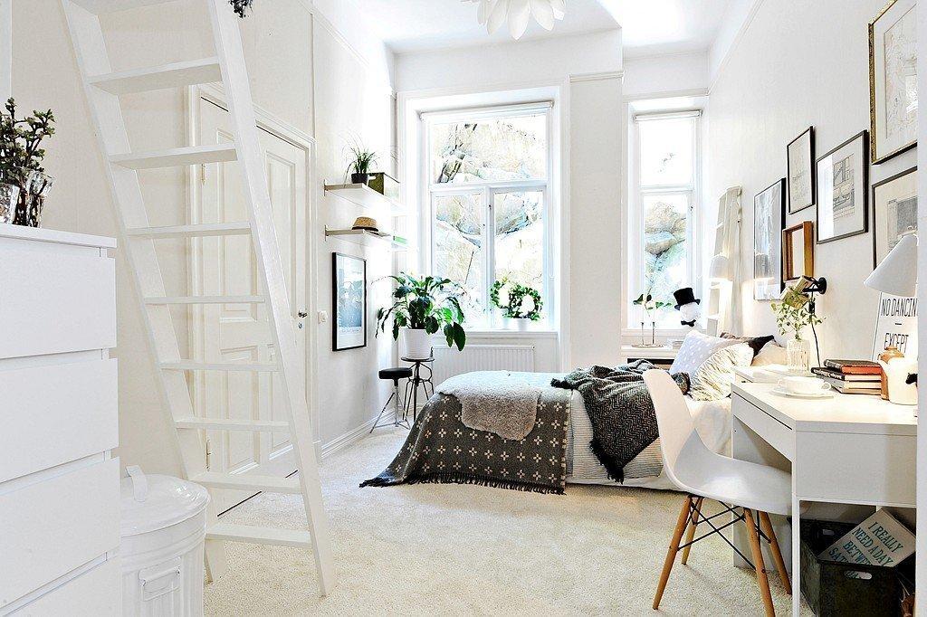 Уютный декор спальни