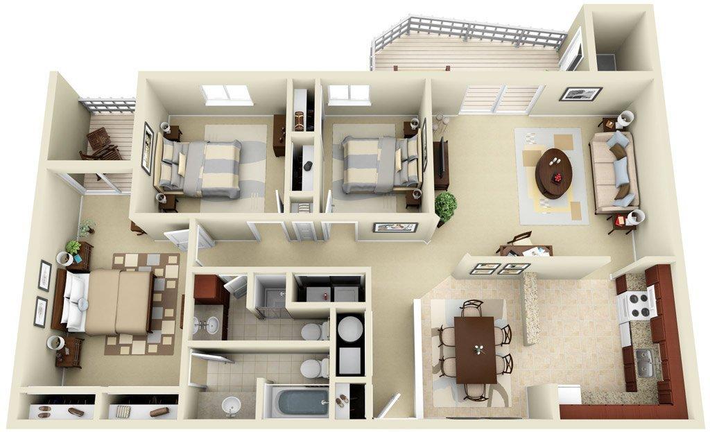 Планировочное решение для квартиры
