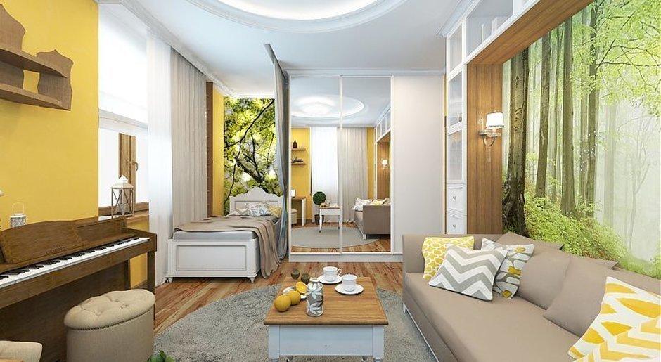 3Д визуализация проекта комнаты