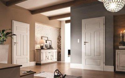 Светлые межкомнатные двери в интерьере +75 фото