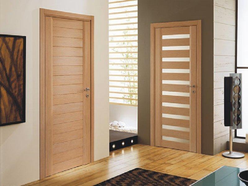 Погонажные двери в интерьере