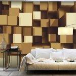 Кубики на стене