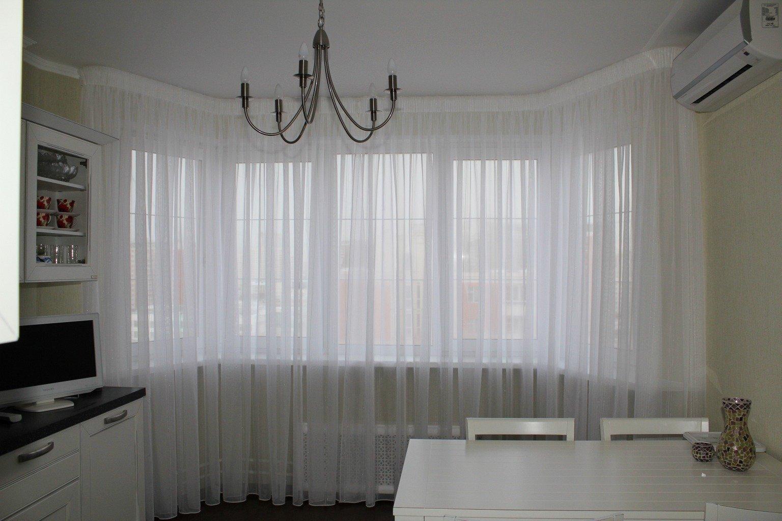 Простые шторы для лоджии
